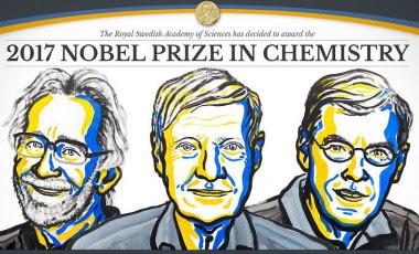 <p>Jacques Dubochet, Joachim Frank y Richard Henderson, ganadores del Premio Nobel de Química 2017./ NobelPrize</p>