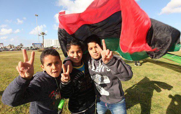 Kids in Bengahzi   1st Anniversary 17 Feburary 2012