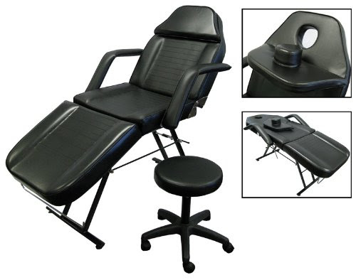Cheap New Massage Table Bed Chair Beauty Barber Chair Facial Tattoo Chair