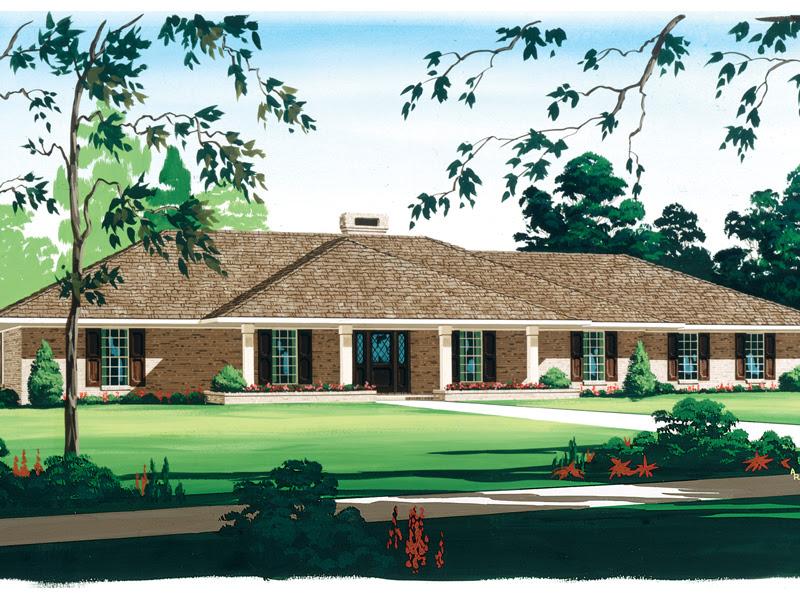 Birchview Expansive  Ranch Home  Plan  020D 0304 House