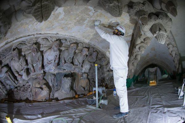 Resultado de imagen de restauración catedral de santiago