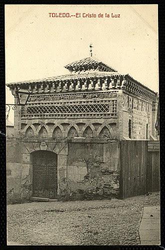 Mezquita del Cristo de la Luz (Toledo), a principios de siglo. Foto Castañeira 1911