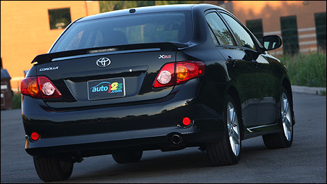 2010 Toyota Corolla XRS Review