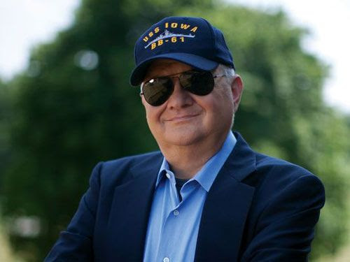Military thriller author Tom Clancy.