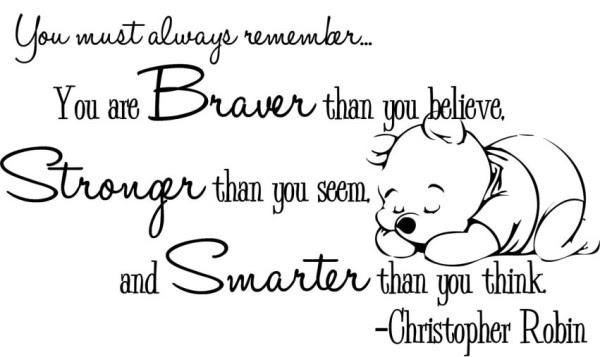 Winnie The Pooh Quotes You Are Stronger Than You Think Archidev