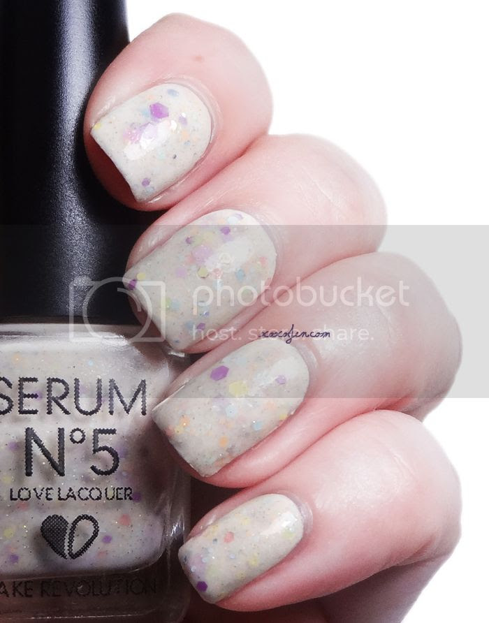 xoxoJen's swatch of Serum No5 Cake Revolution