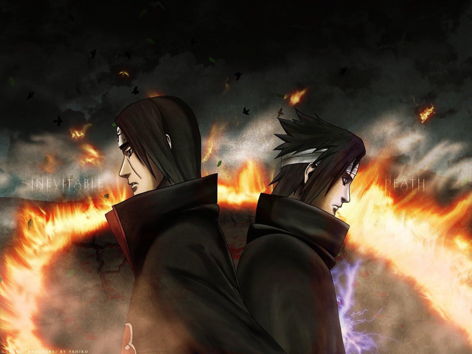 Itachi and Sasuke - Akatsuki Wallpaper (2862016) - Fanpop