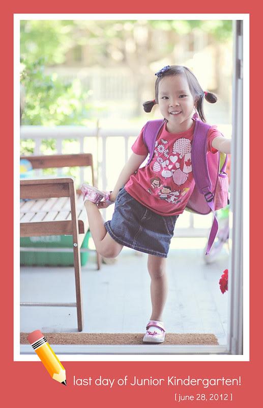 last day of junior kindergarten