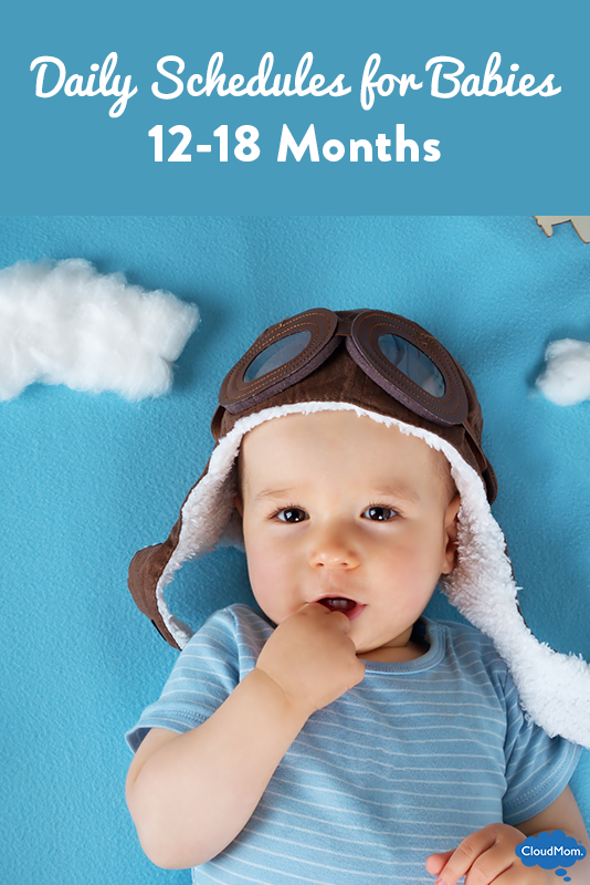 Daily Schedules for Babies at 12 Months to 18 Months | CloudMom