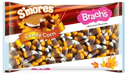 s'mores, candy corn