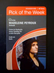 Starbucks iTunes Pick of the Week - Madeleine Peyroux - Instead