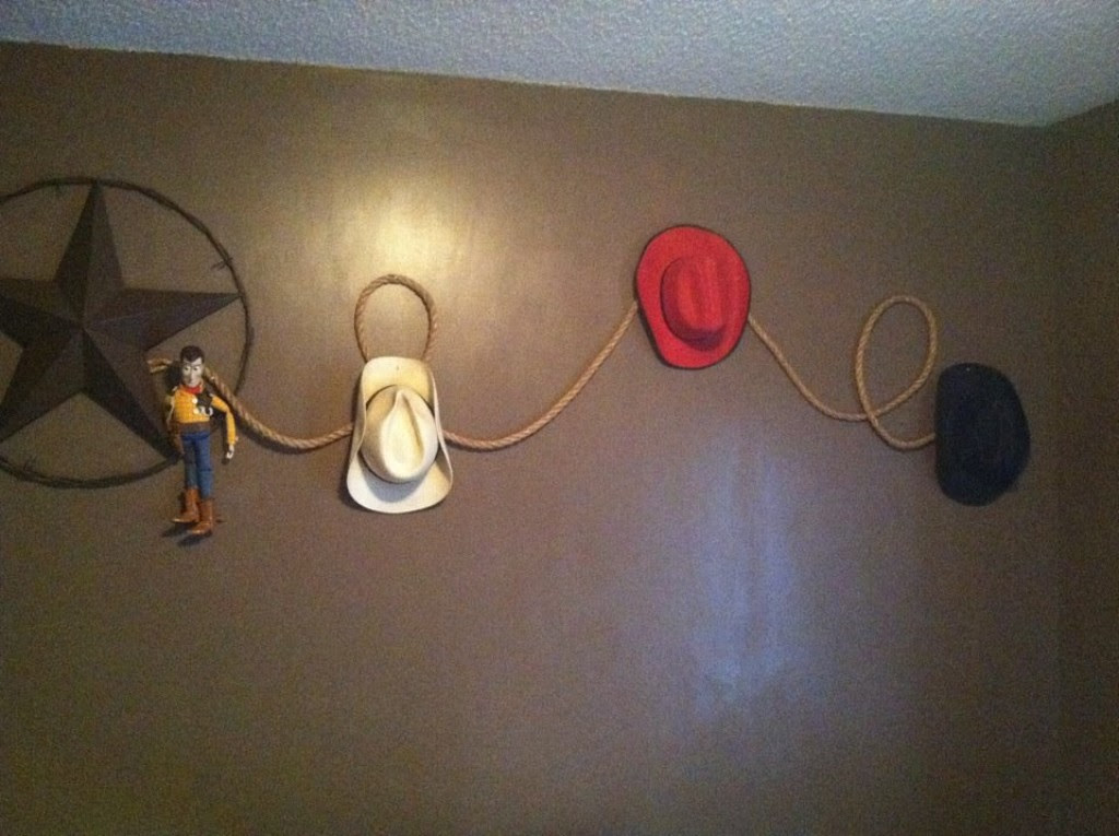 decorating a budget cowboy room