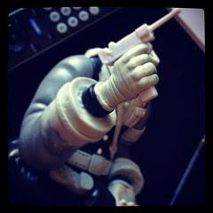#mightyjaxx #lotusskull #chauskoskis toy #customtoy #arttoy #hAndmade