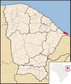 Localização de Icapuí