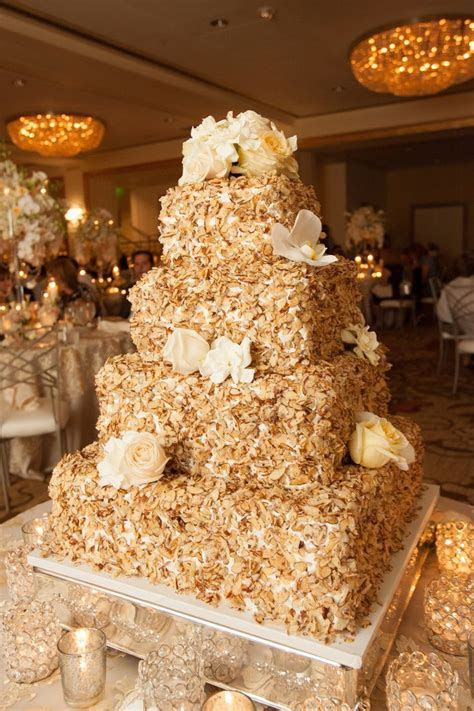 Prantl's Burnt Almond Torte Wedding Cake #