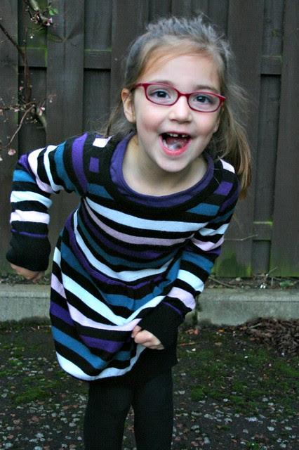 sweater refashion dress 5