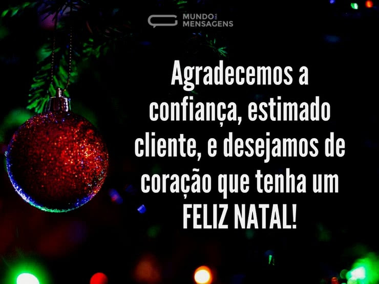 Mensagem De Natal Para Clientes 2018 Frases E Mensagens Em