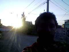 Saliendo el sol