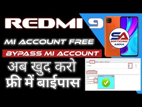 Redmi 9 Mi Account Frp Bypass  Without Auth SP Tool by softichnic