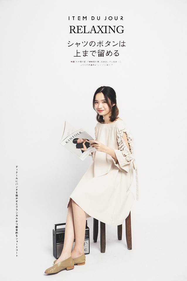 Đón thu ngọt ngào cùng những thiết kế váy liền tay lỡ mà giá chưa quá 700 ngàn đến từ các thương hiệu Việt - Ảnh 1.