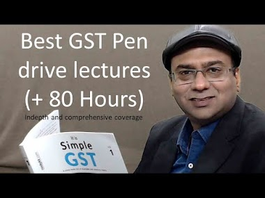 Learn 80+ hours GST (Rs. 900 to Rs. 1,500) with our pen drive lectures. ...