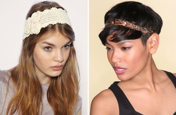 Fascia e cerchietto per capelli 2011