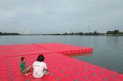 Mimpi Warga Jakarta di Atas Palka Merah yang Mengapung di Waduk Cincin