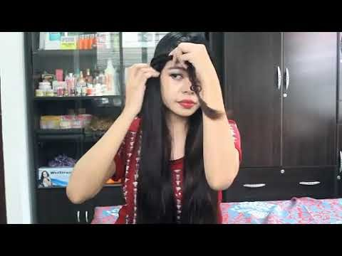 Easy Quick & Chic Everyday Party Hair Tutorial Lace Braid Rosette Side B...