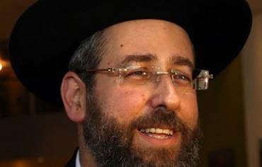 Rabbi David Lau, July 24, 2013.