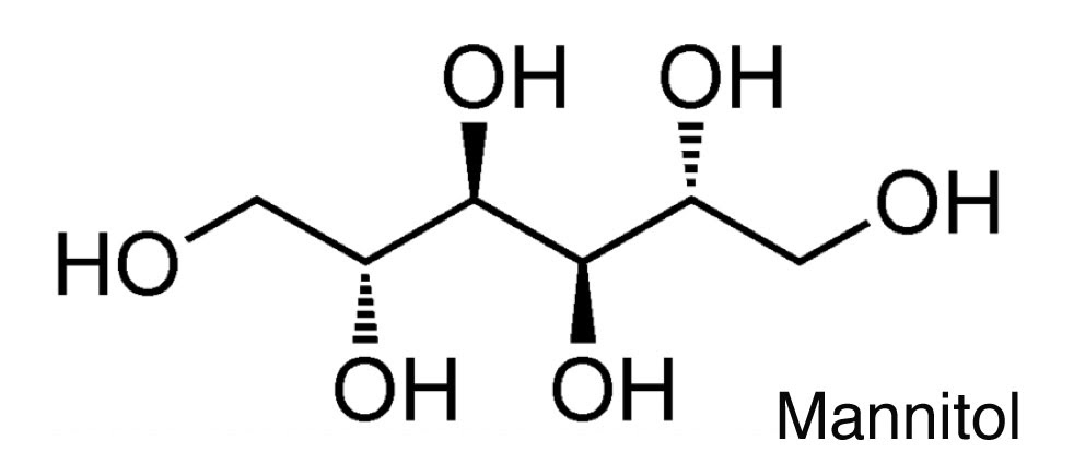 gafacom - mannitol structure