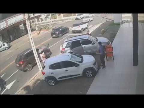 Vídeo mostra momento em que mulher é morta pelo ex no Piauí