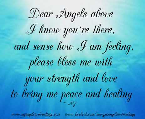 Dear Angels Above I Know Youre There Blessing Quote