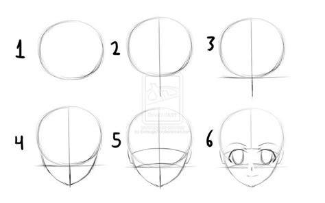 draw anime heads step  step  beginners
