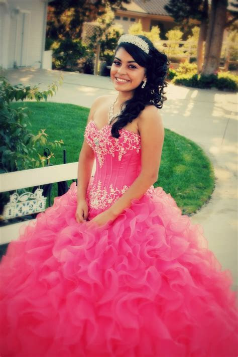 Beautiful Quinceanera in her pink dress!   PHOTOS BY ME
