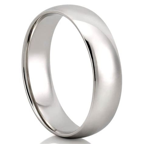 Men's Comfort Fit Wedding Band   Classic Comfort Fit Ring