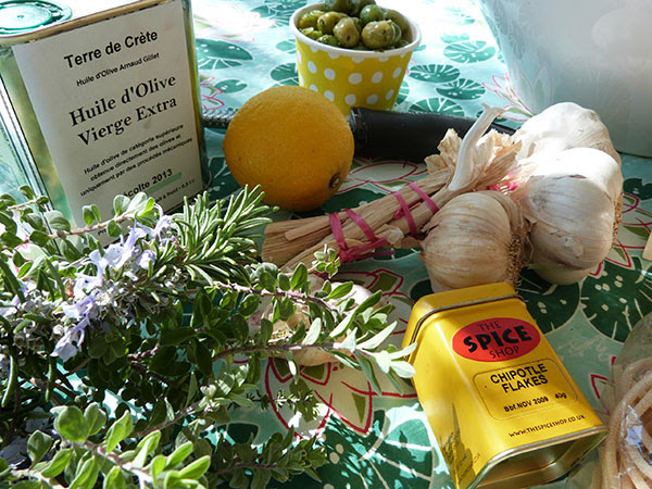 huile de crête et citron