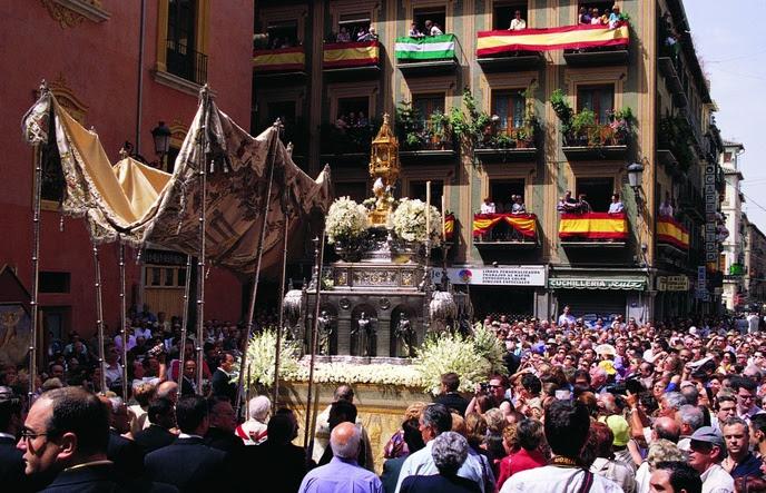 Resultado de imagen de Corpus de Granada
