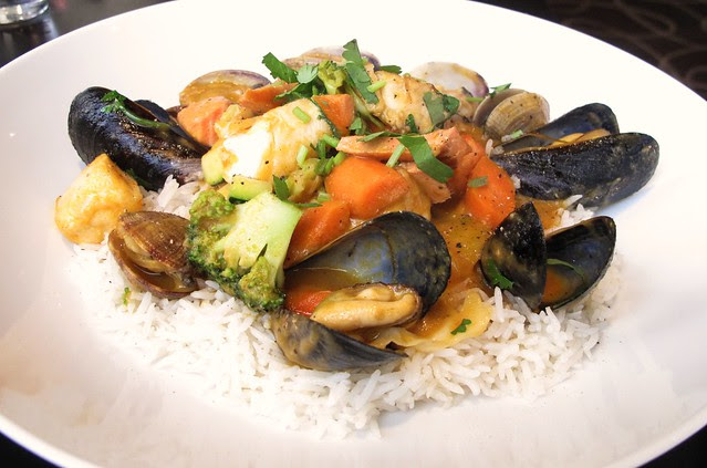Seafood Curry at Mosaic