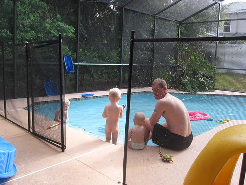 A Dip in the Pool with Daddy