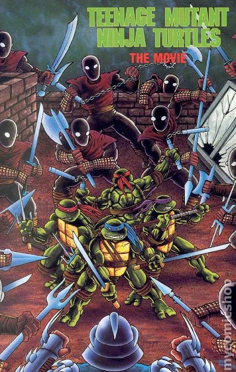 Teenage Mutant Ninja Turtles Comic 1990