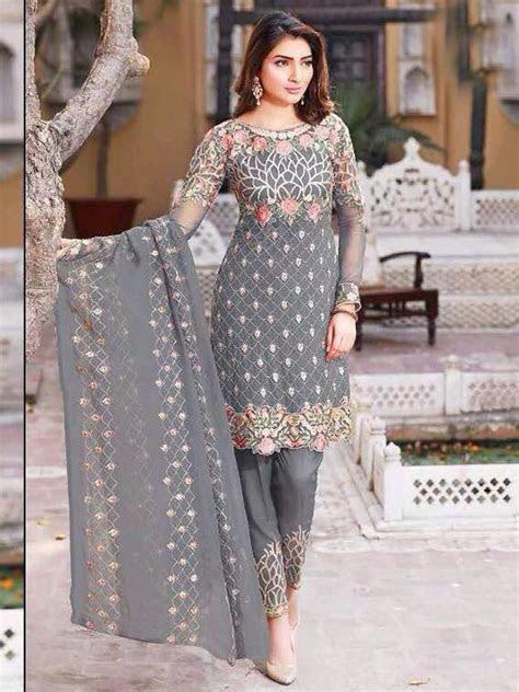 indian designer straight kameez punjabi suit pakistani