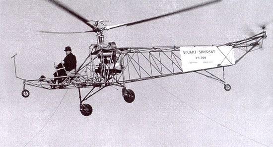 Резултат с изображение за VS-300 на Игор Сикорски