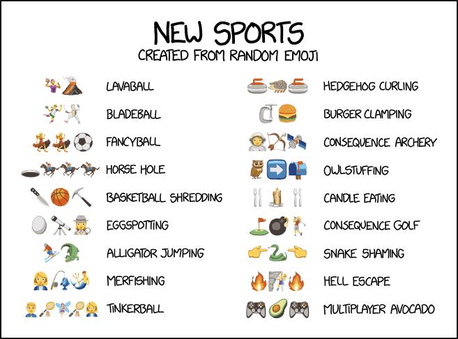 dev/null: Emoji Sports