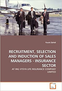 RECRUITMENT, SELECTION AND INDUCTION OF SALES MANAGERS ...