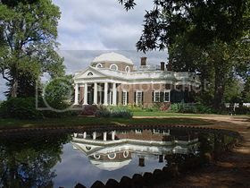 the home of President Thomas Jefferson and his slave Sally Hemings