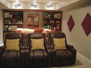 Media Room ReDesign: A Budget Friendly Solution for Ohio Family