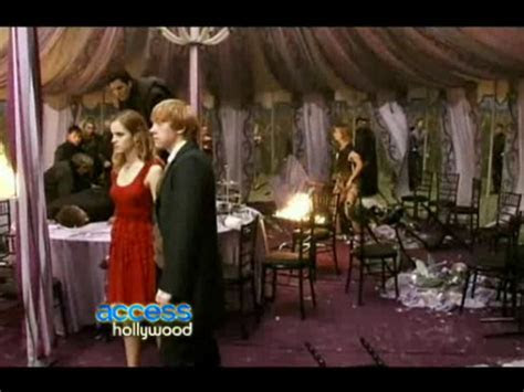 Access Hollywood Deathly Hallows Preview: The Wedding