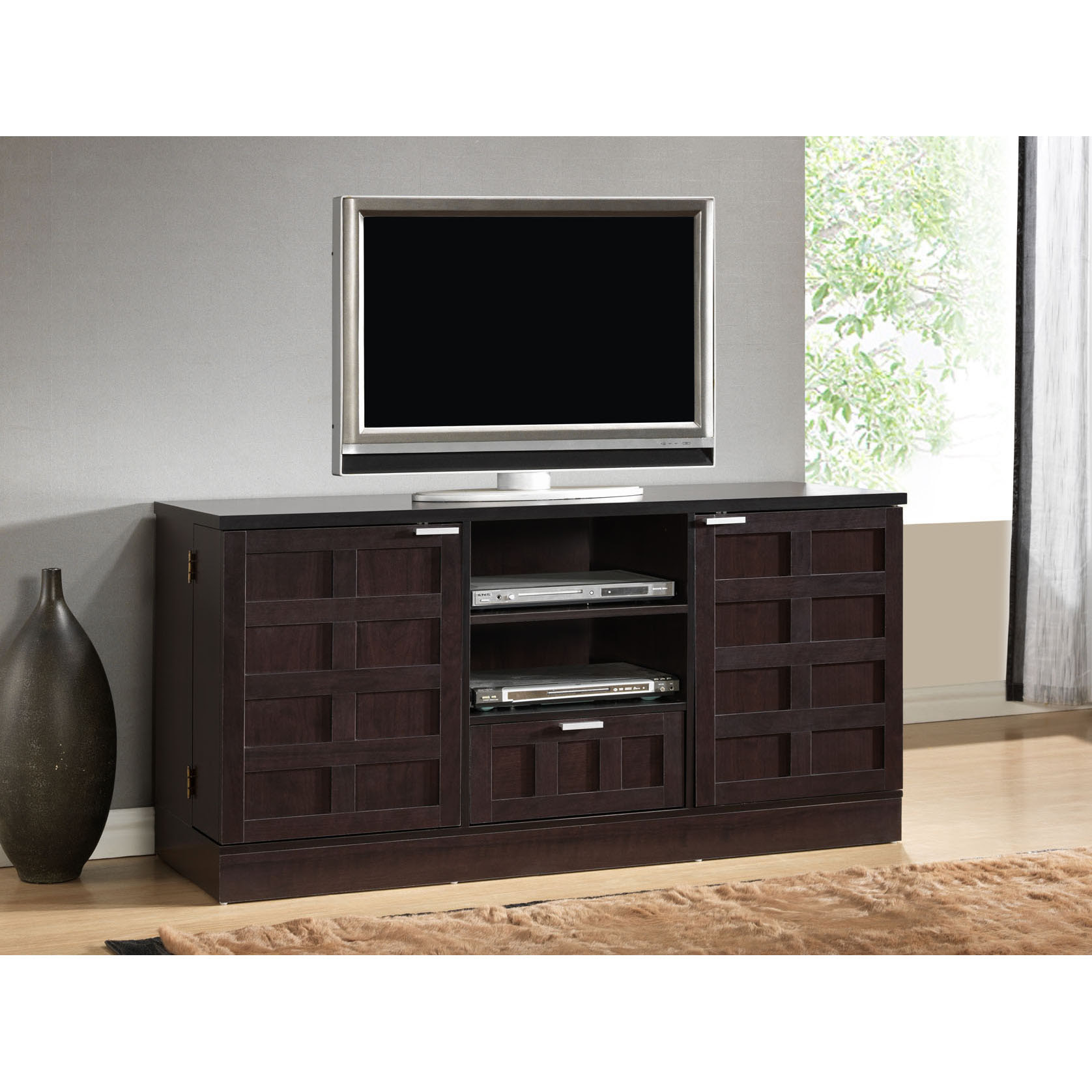 Long Media Cabinet for Your Living Room - HomesFeed