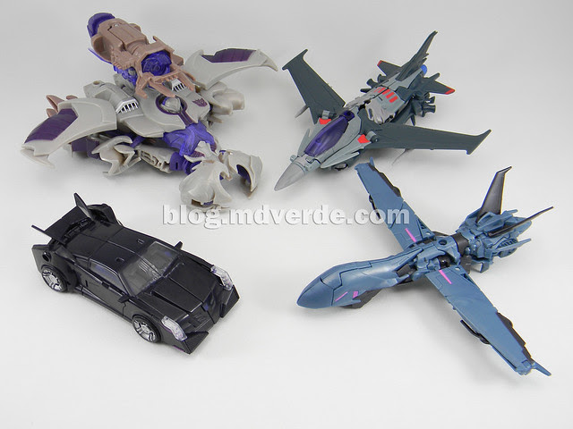 Transformers Megatron Voyager - Prime RID - modo alterno vs otros Prime