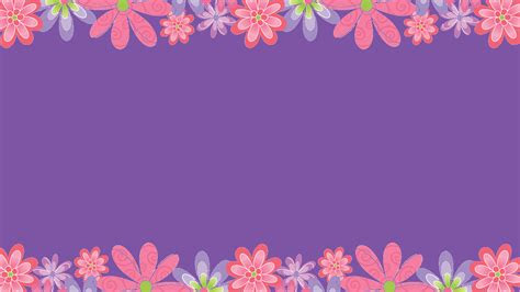 flower wallpaper border